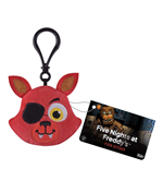 Five Nights at Freddy's Plush Keychain Foxy 5 cm