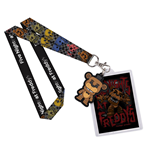 Five Nights at Freddy's Lanyard with Rubber Keychain Freddy