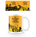 Nightmare Before Christmas Mug Graveyard Scene