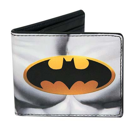 BATMAN Chest Logo Bi-Fold Wallet