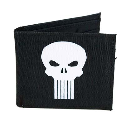 PUNISHER Logo Bi-Fold Wallet