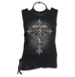 Custodian - 2in1 PU Leather Vest