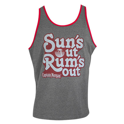CAPTAIN MORGAN Suns Out Rums Out Tank Top