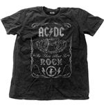 AC/DC Men's Fashion Tee: Cannon Swig Vintage