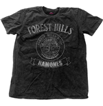 Ramones Men's Fashion Tee: Forest Hills Vintage