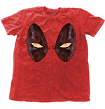 Marvel Comics Men's Fashion Tee: Deadpool Eyes