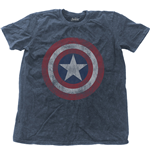 Marvel Comics Men's Fashion Tee: Avengers Assemble Cap