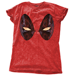 Marvel Comics Ladies Fashion Tee: Deadpool Eyes