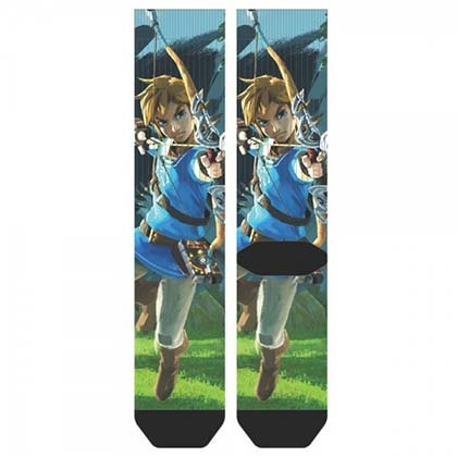 The LEGEND OF ZELDA Breath Of The Wild Women's Crew Socks