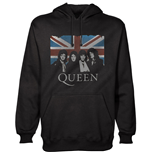 Queen Men's Hooded Top: Vintage Union Jack