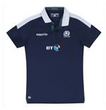 2016-2017 Scotland Macron Home Womens Poly Rugby Shirt