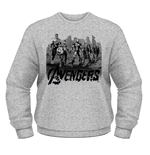 Marvel Avengers Age Of Ultron Sweatshirt Team Art