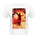 Marvel Avengers Age Of Ultron T-shirt Vision Cover
