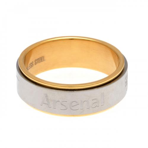Arsenal F.C. Bi Colour Spinner Ring Large