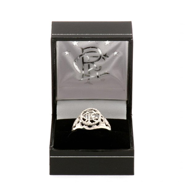 Rangers F.C. Sterling Silver Ring Medium