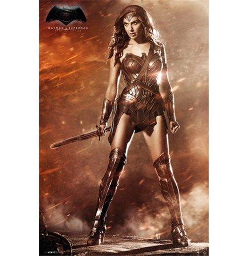 Superman vs batman movie wonder woman