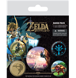 The Legend of Zelda Breath of the Wild Pin Badges 5-Pack The Climb
