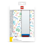 LEGO Journal with Band white