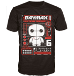 Big Hero 6 POP! Tees T-Shirt The Baymax Tech
