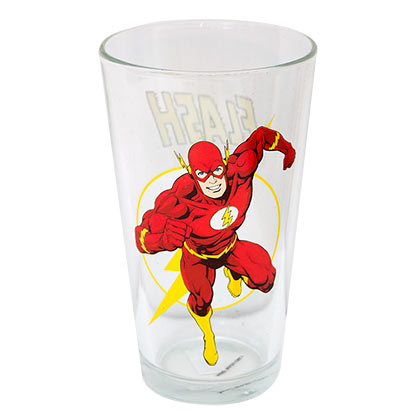 The FLASH Pint Glass
