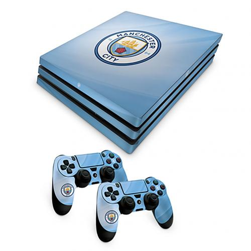 Manchester City F.C. PS4 Pro Skin Bundle