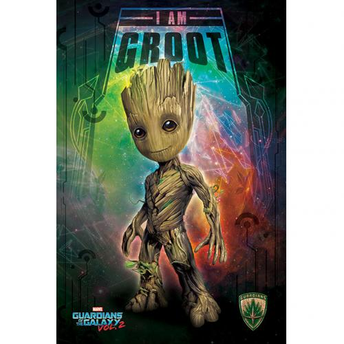 Guardians Of The Galaxy 2 Poster Groot 205