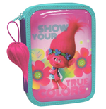 TROLLS pencil case double filled (CP-EP-101-T)