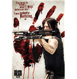 The Walking Dead - Daryl Bloody Hand Maxi Poster (61x91,5 Cm)