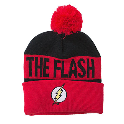 FLASH Winter Pom Beanie