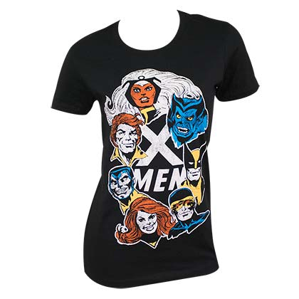 X-MEN Ladies Squad Tee Shirt