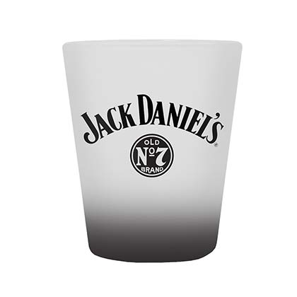 JACK DANIELS Frosted Shot Glass