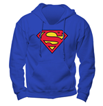 Superman - Logo - Unisex Hooded Sweatshirt Blue
