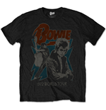 David Bowie Men's Tee: 1972 World Tour