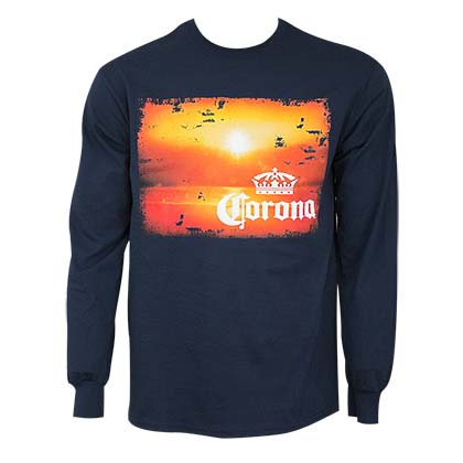 CORONA EXTRA Long Sleeve Sunset Tee Shirt