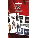 WWE Temporary Tattoos - Logo'S And Superstars