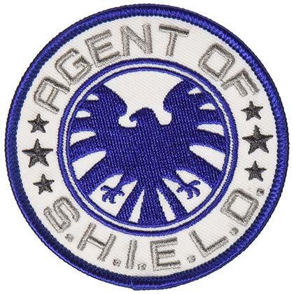 Agents Of SHIELD Embroidered Patch