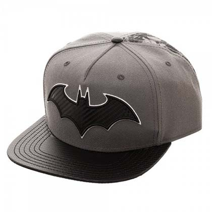 BATMAN Carbon Fiber Snapback Hat