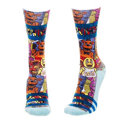 FIVE NIGHTS AT FREDDY'S Juniors Crew Socks