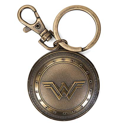 WONDER WOMAN Shield Keychain
