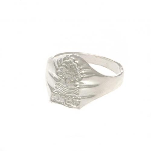 Nottingham Forest F.C. Silver Plated Crest Ring Large