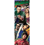 Big Bang Theory Door Poster - Comic - 53x158 Cm