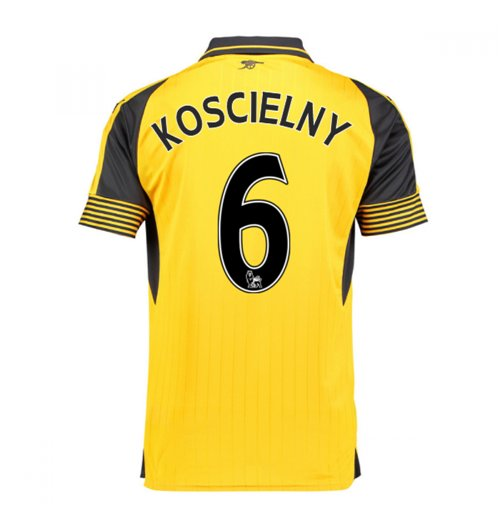 2016-17 Arsenal Away Shirt (Koscielny 6) - Kids