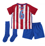 2016-17 Atletico Madrid Mini Kit (Koke 6)