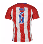 2016-17 Atletico Madrid Home Shirt  (Koke 6) - Kids