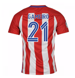 2016-17 Atletico Madrid Home Shirt  (Gameiro 21) - Kids