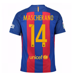 2016-17 Barcelona Home Shirt (Mascherano 14) - Kids