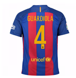 2016-17 Barcelona Home Shirt (Guardiola 4) - Kids