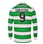 2016-17 Celtic Long Sleeve Home Shirt (Griffiths 9)