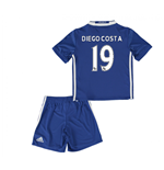 2016-17 Chelsea Home Mini Kit (Diego Costa 19)
