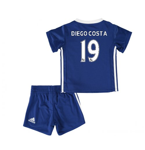 super popular 85ceb 08a02 2016-17 Chelsea Home Baby Kit (Diego Costa 19)